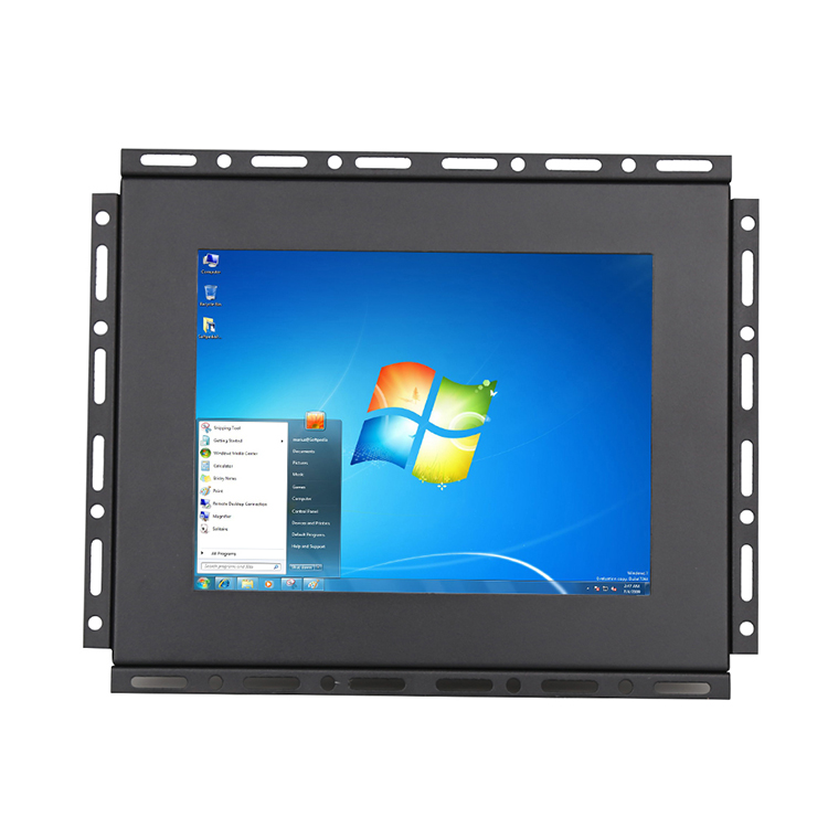 8 inch touch screen monitor open frame lcd monitor outdoor sunlight readable monitor VGA VA
