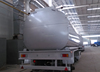 Low Price Tri- Axle milk tanker trailer