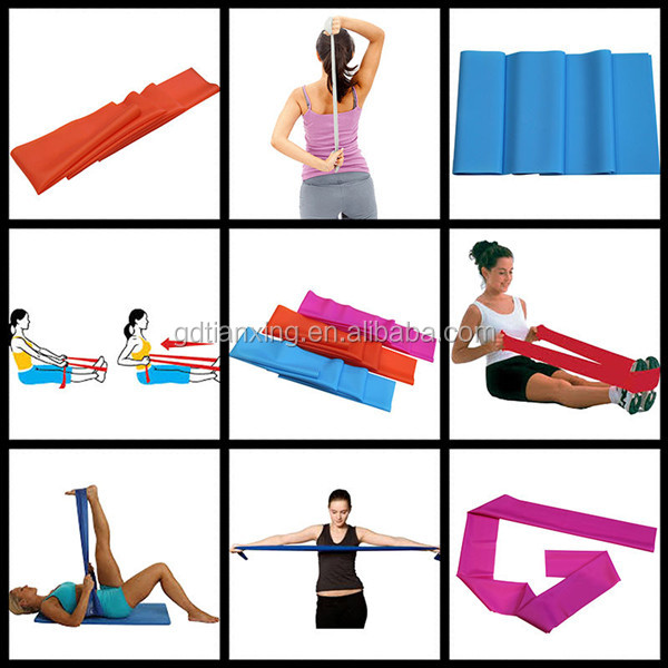 Ballet bands Health lifestyle Resistance bands Yoga Exercise