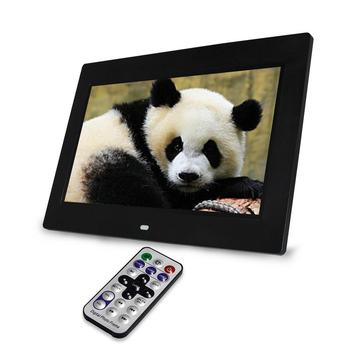 bulk price CE certificated digital photo frame 7 inch ad player black and white