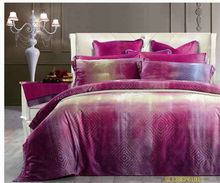 high quality cotton sateen print bedding set /quilt cover/bedsheet