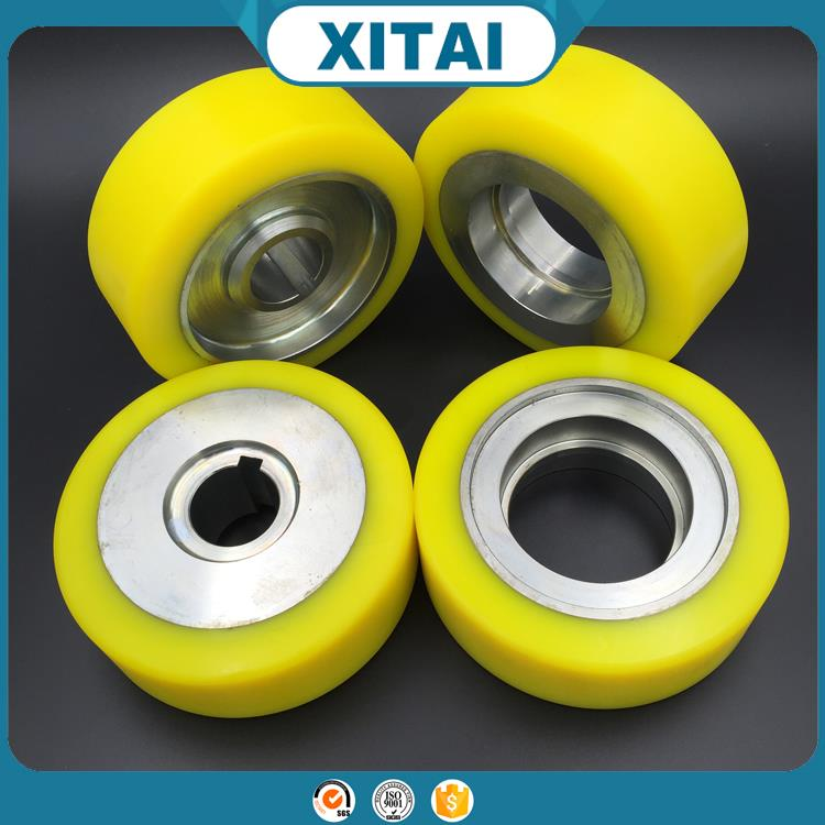 High Quality pvc or pu wheels Custom polyurethane wheel