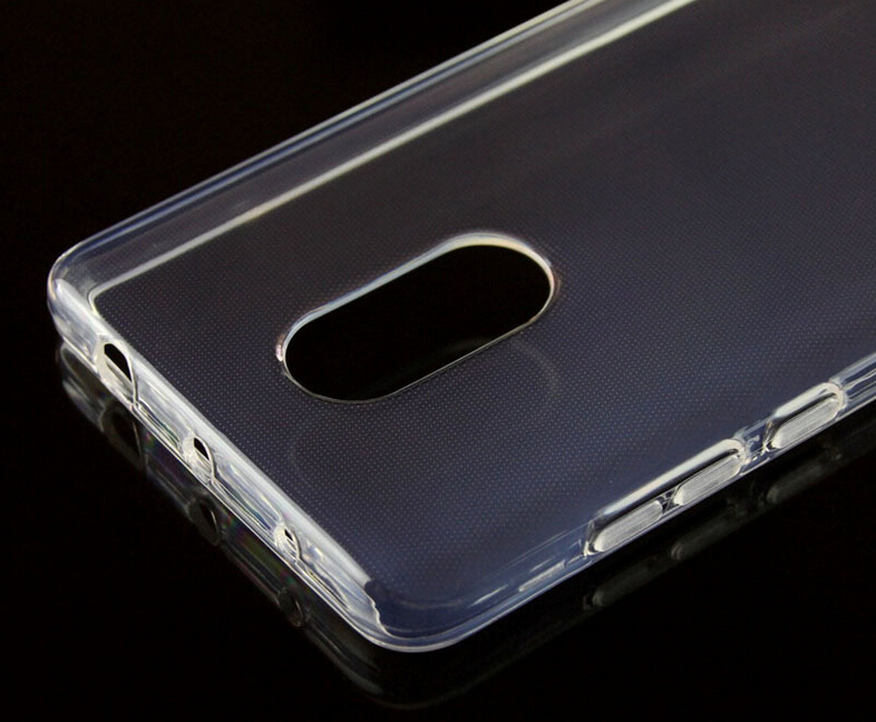 Soft TPU Silicon Transparent Clear case for redmi note 4/4X