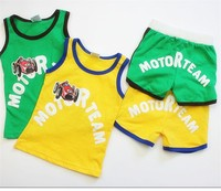 summer baby boy and girl sport clothing set 2pc made in china baby clothes italy