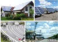 5kw 8kw 10KW 15kw solar power system for all family and home solar power system