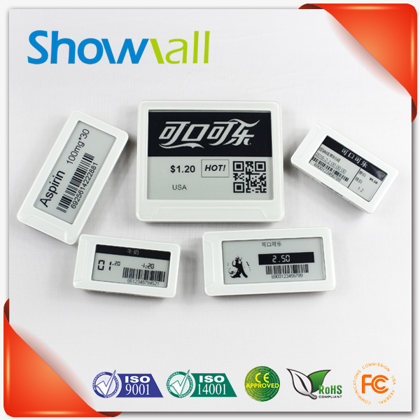 Supermarket lcd price display pricer esl system led price tag