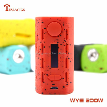 2017 popular product WYE 200W with mod lightweight 64.5g business royals cigarettes