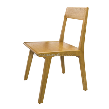 top quality solid oak wood dining chair