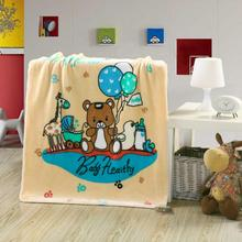 10 years experience 100% cotton fabric muslin baby children blanket