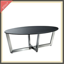 round glass solid wood slab clear plastic plexiglass dining table