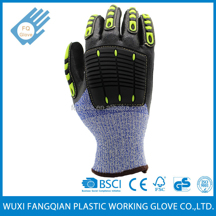 Cut-Resistant Glass Handling Safety Gloves
