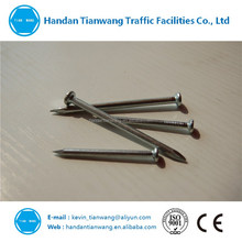 Carbon steel concrete nails with zinc plating good quality
