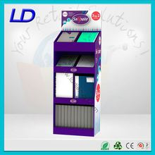 8 years factory advertising pop cardboard floor display ,Advertising pallet stands for coca cola