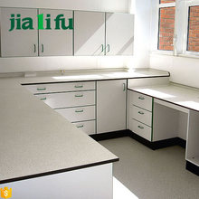 Anti-corrosion hpl lab furniture laboratory benches and worktops used