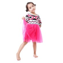Yiwu Kaiya Wholesale Baby Clothes Vintage Cotton Frocks Baby Girls Party Wear Grenadine Fairy Dress Design