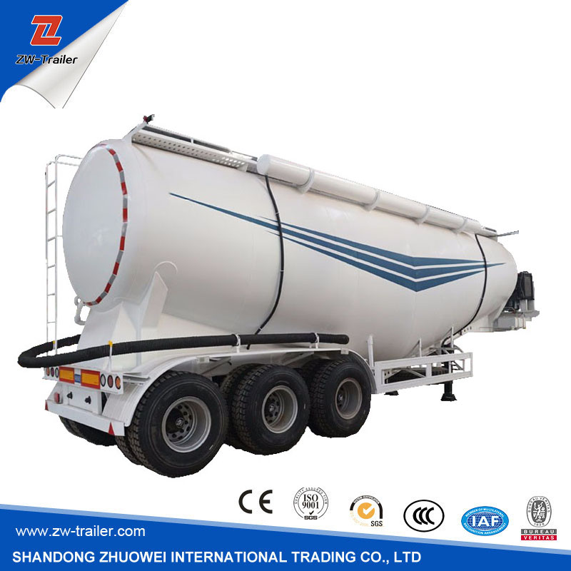 Hot Sale 65T Three Axle Bulk Cement Tanker 50CM3 Semi Trailer