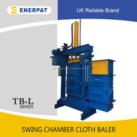 Used clothing clothes baling machine with CE