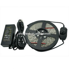 High quality 12V SMD 5050 300LED Waterproof RGB battery powered led strip light