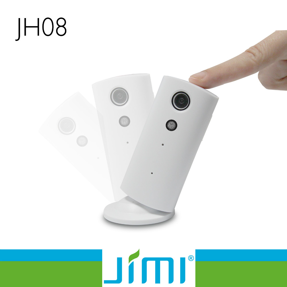 Jimi JH08 Wifi Wireless ip Camera for home security with live video stream in APP and can two way voice talk