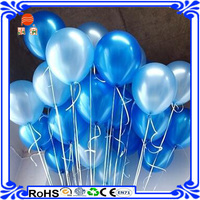 Wholesale Red Self Inflating Helium Latex free Balloons For Easter