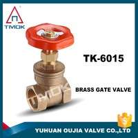 forged brass screw end gate valve full flow female brass gate valve 4 gas oil water brass gate valve