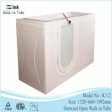 foshan zink 1 person water jet surf portable pedicure spa bath tub