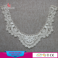 embroidery crochet neck lace neck patch latest churidar neck designs SRLK09