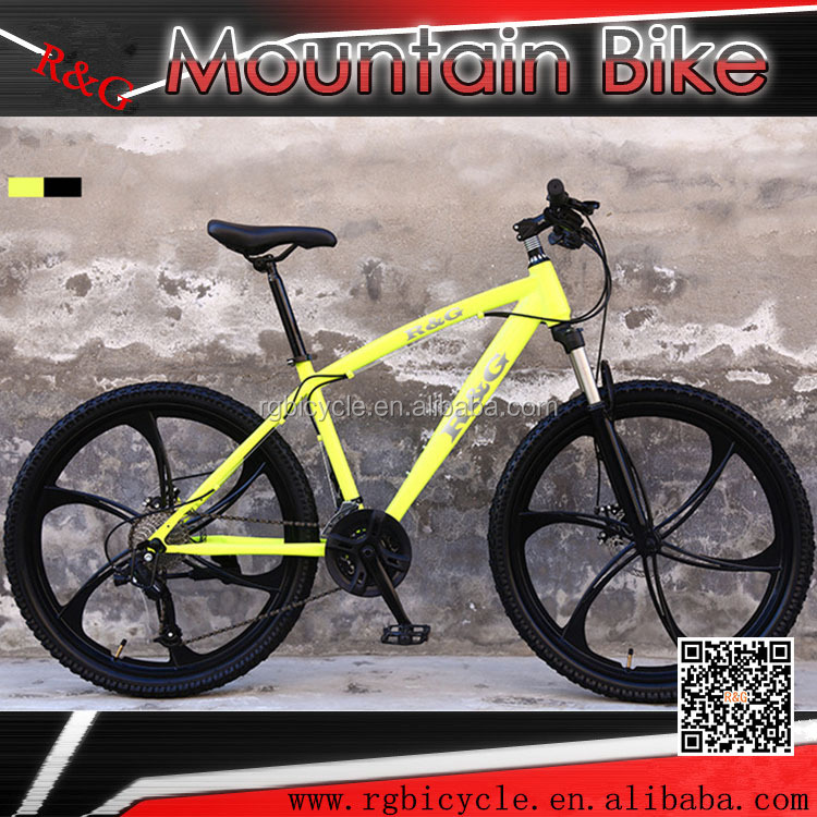 21/24/27 speed integrated wheel 26 inch bicycle mountain bike