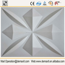 3D Wall Panel For Wall Decorative Eco Friendly Solid Surface prefabricated wall panels