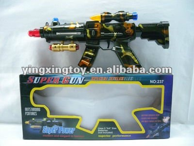 Shock Voice Toy Gun