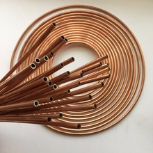easy bending double wall copper brazed steel tube from factory