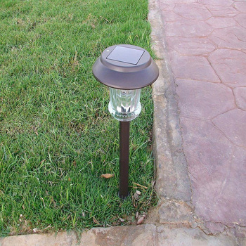 outdoor warm white stick garden lawn light
