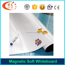 Promotion flexible kids small magnetic soft whiteboard