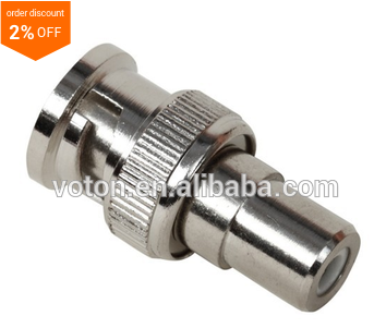 free samples made in voton bnc male to RCA female adapter