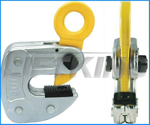 Special vertical plate lifting clamp for sheet
