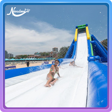 2018 Custom Commercial Giant Size Used China Long Aqua Park Slip N Slides Kids Adult Inflatable Water Slide For Sale