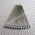 "Stainless Steel 1"" Silver Head Collar Pins for Shirt Packing"