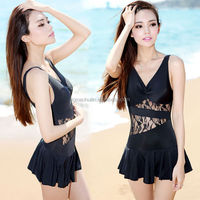 lace padded ladies swimwear sexy girl swimsuit women bathing suit