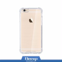 For iphone 6 Ultra-thin tpu clear case, gel transparent 5.5 inch TPU cell phone case ,bulk cheap Mobile TPU case for Iphone 6s