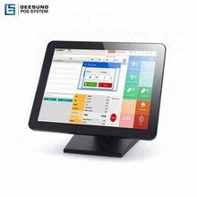 Ture Flat 15 Inch Pos Touch Screen <strong>Monitor</strong> With Metal Stand