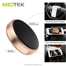 2017 new style car magnetic 3M sticker silicone mobile phone 3d holder stand adjustable bracket