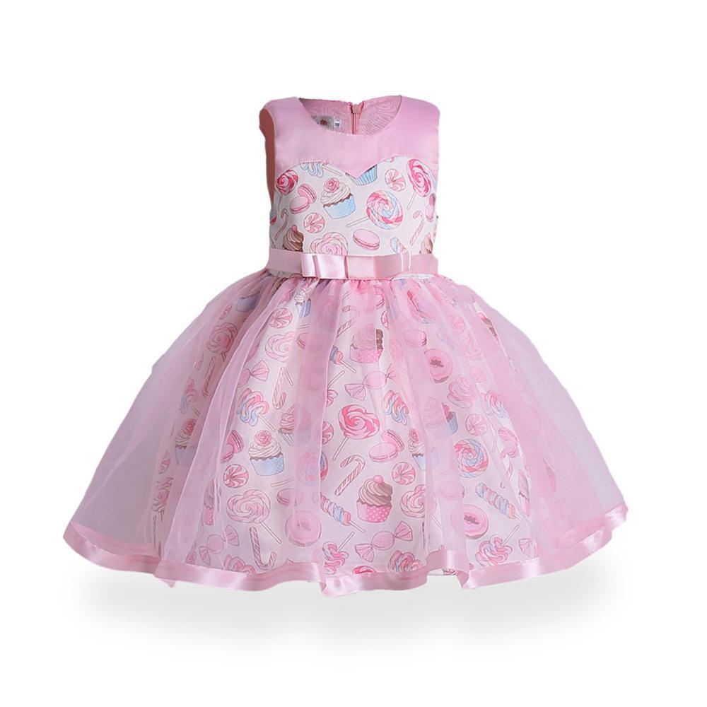 Venta al por mayor vestido de niñas patrones-Compre online los ...