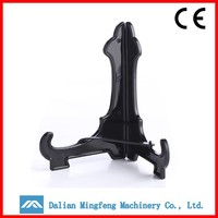 OEM plastic products manufacturer, black plastic display easel