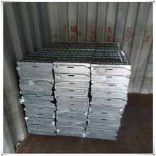 galvanized outdoor steel grating stair treads