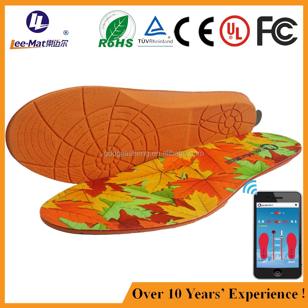 Outdoor cold resistant safety electric heating shoe insert for hunter boots