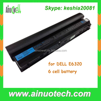 Original New Laptop Battery for DELL E6320 6 cell / 9 cell bettery for E6220 E6230 E6320 E6330 E6430s Laptop