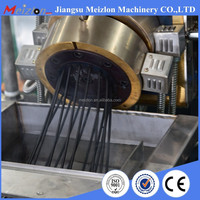 waste recycling plastic production line, pellet granulator machine, extruder machine price