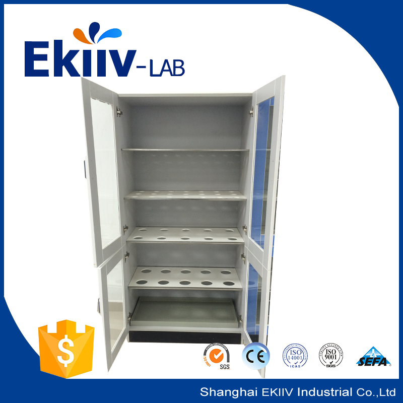 Medical Sample used steel lockable storage cabinets in laboratory furniture