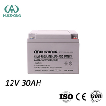 AGM 12V 30AH lead acid sealed rechargeable deep cycle batteries