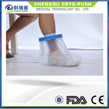 Waterproof foot/ankle cast cover